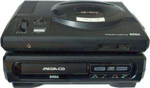 Konsole CD1 + MD1 + Original Controller + Zubehör