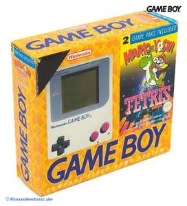Konsole #grau + Tetris + Mario & Yoshi