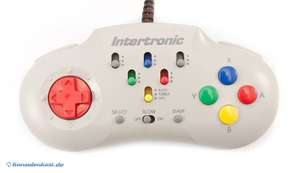Intertronic Controller mit Auto Fire Funktion