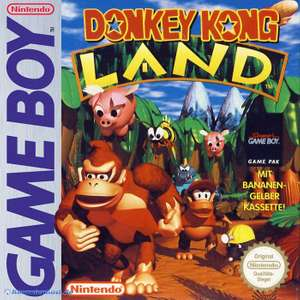 Donkey Kong Land 1 #gelb