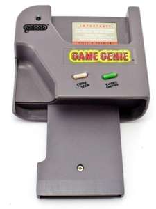 Game Genie / GameGenie Schummelmodul / Cheat Catridge / Mogelmodul