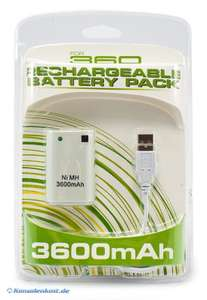 Battery Pack / Power Akku 3600 mAh + Ladekabel #weiß