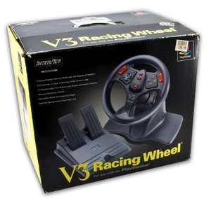 Lenkrad / Racing / Steering Wheel mit Pedale #V3 [InterAct]