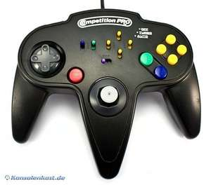 Controller / Pad #schwarz Competition Pro