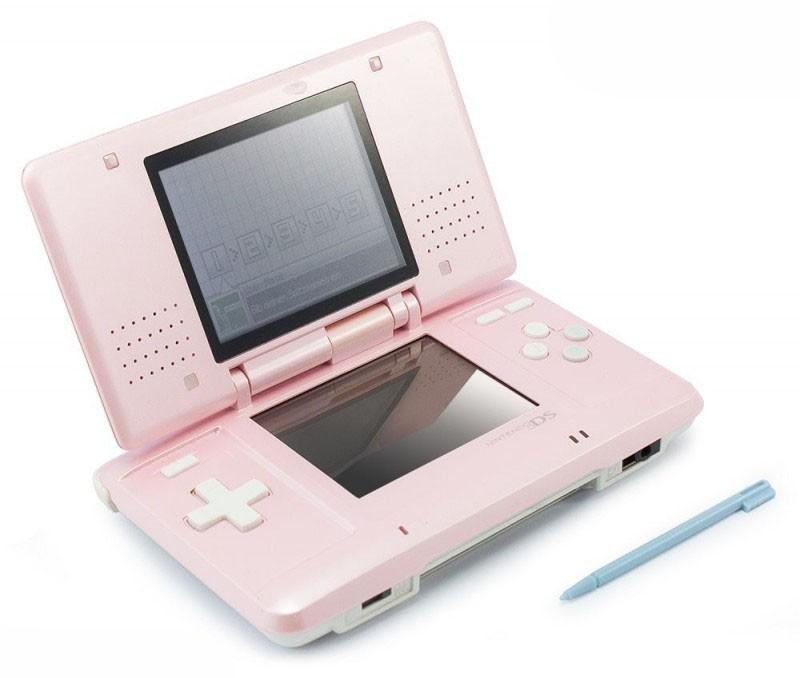 Nintendo DS - Konsole #pink + Netzteil