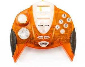 Joytech Controller mit Turbo #orangetransparent
