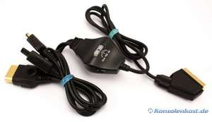 RGB AV - Scartkabel für GC / XBOX / PlayStation [MadCatz]