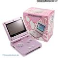 Konsole GBA SP AGS-101 #pink + Netzteil