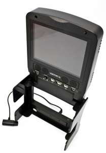 Portable TFT Colour Monitor / LCD Screen inkl. Verbindungskabel #schwarz [4Gamers]