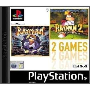 2 in 1 Rayman 1 & Rayman 2