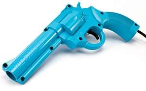 Lightgun The Justifier #blau [Konami]