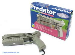 Predator Dual Format Automatic Light Gun / Pistole