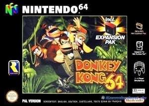 Donkey Kong 64 + Expansion Pak