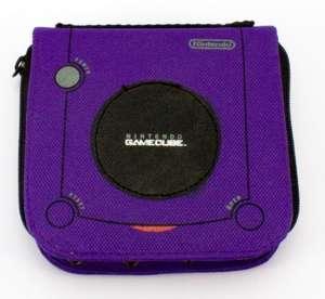 Tasche für CDs CD / Caddy / Organizer / Case #lila [NINTENDO]