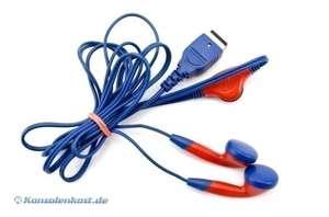 Kopfhörer / Headset für GBA SP und NDS #rot/blau