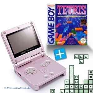 Konsole GBA SP #pink + Tetris + Netzteil