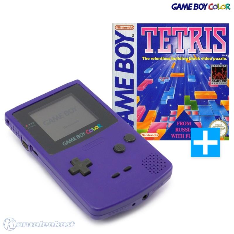 Konsole #Lila/Purple/Grape + Tetris