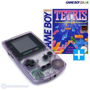Konsole #Clear/Atomic Purple + Tetris