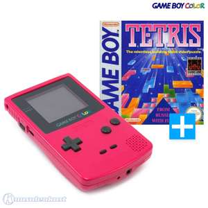 Konsole #Rosa/Pink/Red/Berry + Tetris