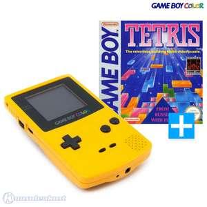 Konsole #gelb + Tetris
