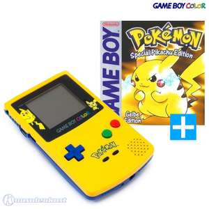 Konsole #Limited Pokemon Edition - Yellow / Gelb + Pokemon: Gelbe Edition