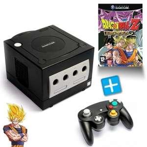 Konsole #schwarz + Dragon Ball Z 2 + Controller + Zubehör