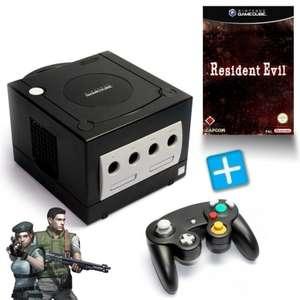 Konsole #schwarz + Resident Evil 1 + Controller + Zubehör
