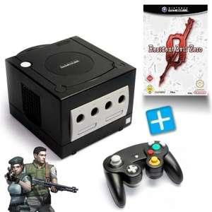 Konsole #schwarz + Resident Evil Zero + Controller + Zubehör