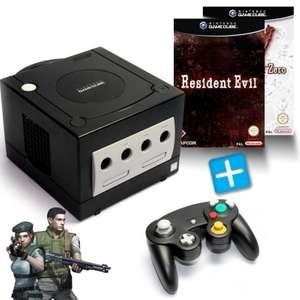 Konsole #schwarz + Resident Evil 1 + RE Zero + Controller + Zubehör