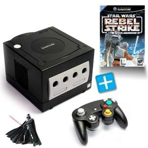 Konsole #schwarz + Star Wars Rebel Strike + Controller + Zubehör