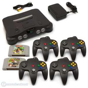 Konsole + Mario Kart + Diddy Kong + 4 Controller + Zubehör