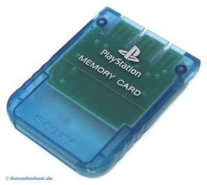 Original Sony Memory Card / Speicherkarte 1 MB #blau
