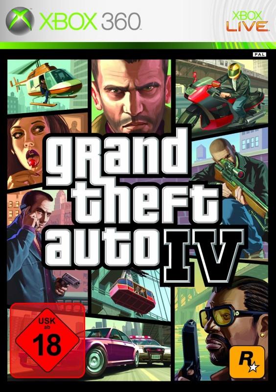 Xbox 360 - Grand Theft Auto IV / GTA 4