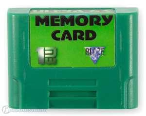 Memory Card / Memorycard / Speicherkarte / Controller Pak 1MB #grün [Dritthersteller]