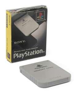 Original Sony Memory Card / Speicherkarte #grau SCPH-1020