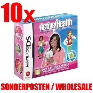 10 x Active Health Carol Vorderman With Activity Meter