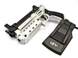 Light Gun / Pistole / Phaser mit Pedal Ballistic Lightgun [4Gamers]