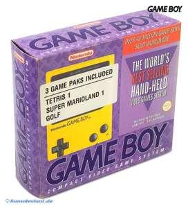 Konsole - Banana Jim + Super Mario Land + Tetris + Golf #gelb