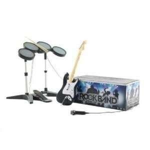 Rockband Instrument Edition: Gitarre + Drums + Mikro + USB Hub