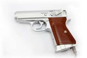 Light Gun / Pistole / Phaser #silber Vivanco