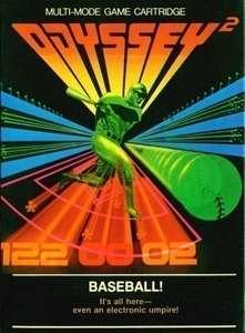 Odyssey 2: Baseball!