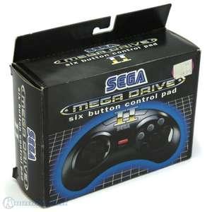 Original 6-Button Controller / Control Pad MK-1653-50 [SEGA]