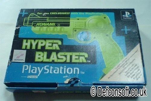 Light Gun / Pistole / Phaser #grün Hyper Blaster [Konami]