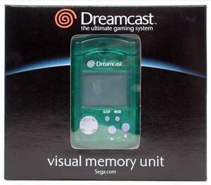 Visual Memory Unit - Memory Card #grün [Sega] [US]