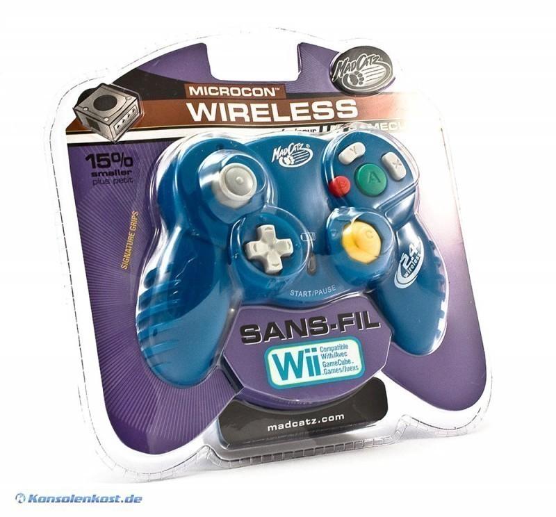 Controller / Pad #blau MicroCon Wireless [Madcatz]