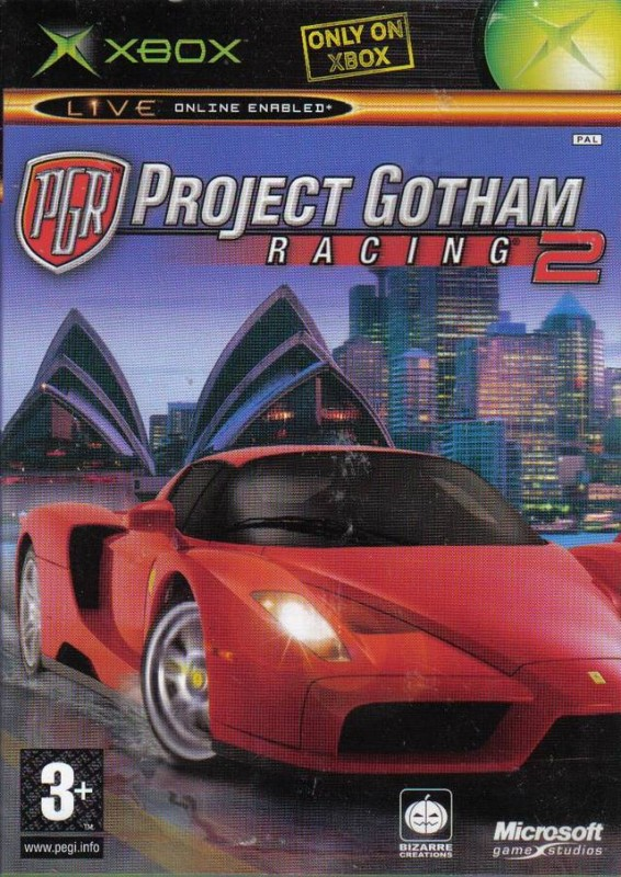 Xbox - Project Gotham Racing PGR 2