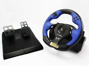 Lenkrad / Racing / Steering Wheel mit Pedale Driving Force mit FF [Logitech]
