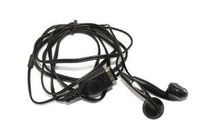Kopfhörer / Headset für GBA SP und NDS #schwarz