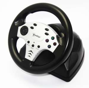 Lenkrad / Racing / Steering Wheel mit Pedale [Brooklyn]