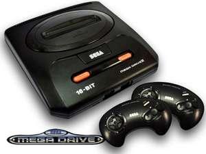Konsole MD2 + 2 Original Controller + Zubehör